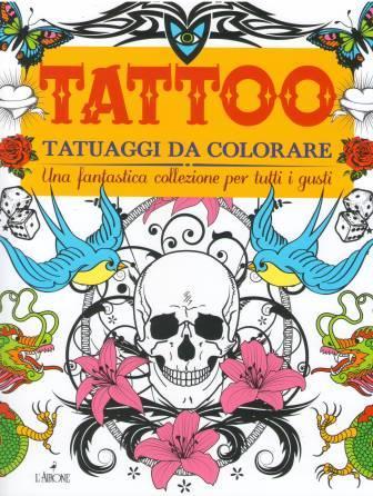 Tattoo. Tatuaggi da colorare-0